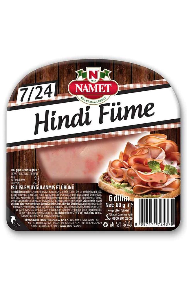 Image for Namet Hindi Füme Et 60 Gr from Bursa