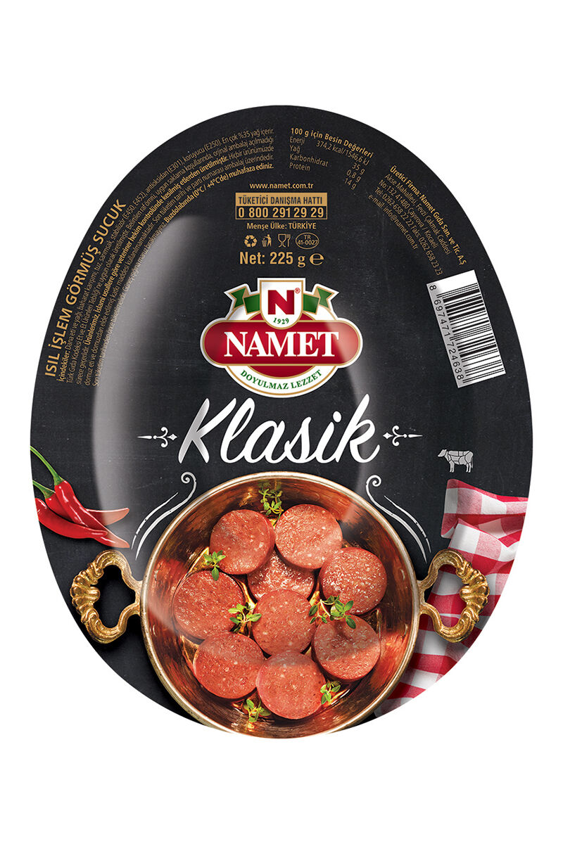 Image for Namet Dana Kangal Sucuk 225 Gr. from Eskişehir