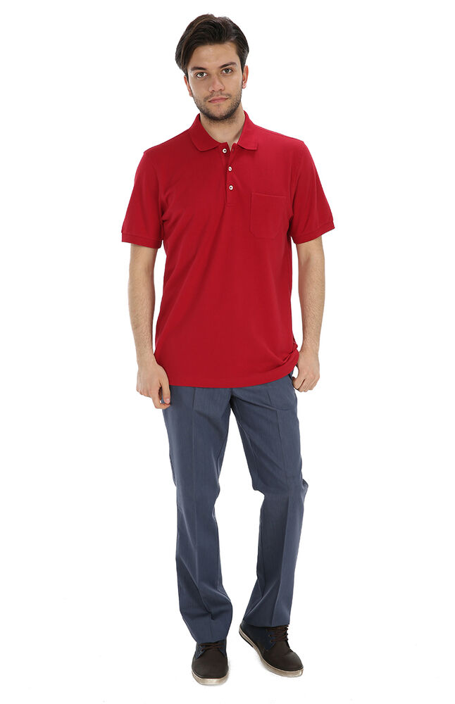 Image for Karaca Polo Yaka Tişört Slim Fit 30/1.Bord from Özdilekteyim