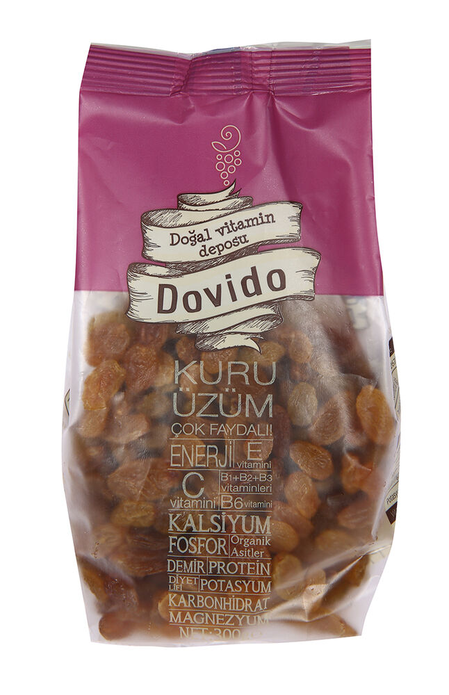 Image for Dovido Kuru Üzüm 300 gr from Antalya