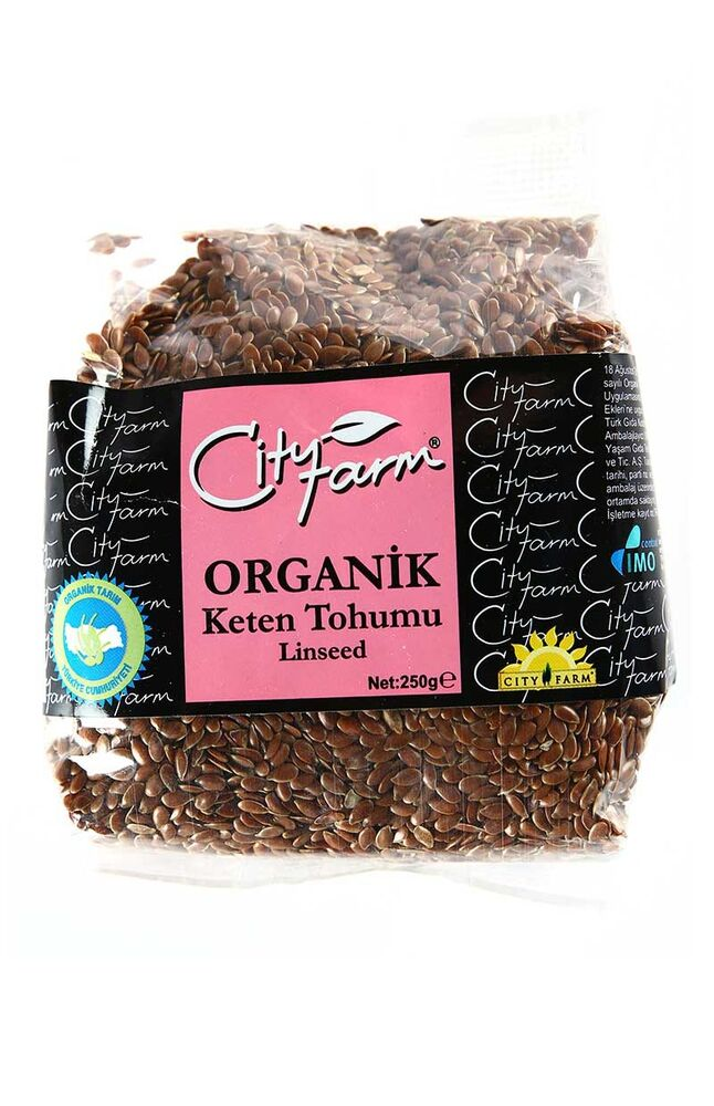 Image for City Farm Organik Keten Tohumu 250 Gr from Eskişehir