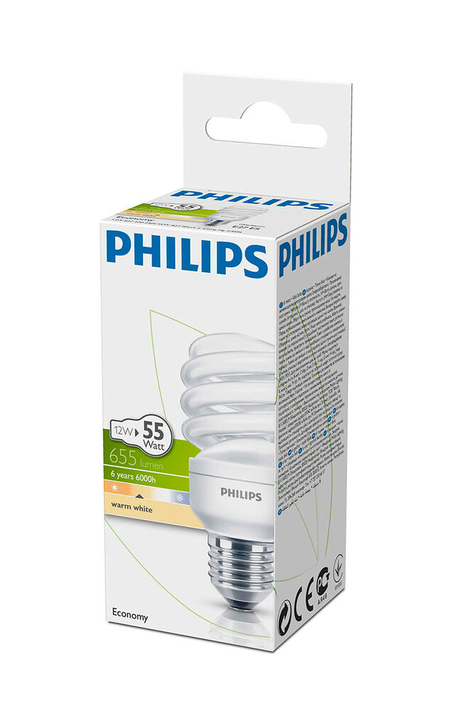 Image for Philips Ampul Twister 12W WW E27 Sarı Işık from Bursa