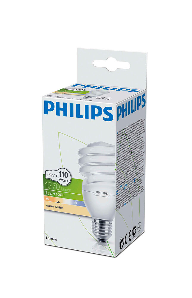 Image for Philips Ampul Twister 23W WW E27 Sarı Işık from Özdilekteyim