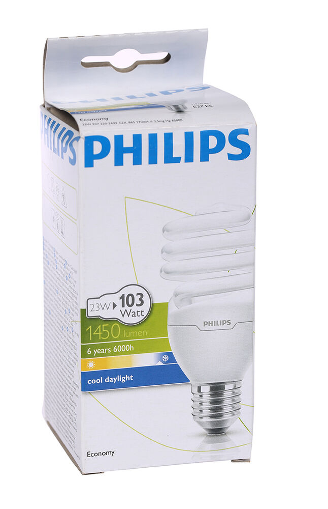 Image for Philips Ampul Twister 23W CDL E27 Beyaz Işık from Bursa