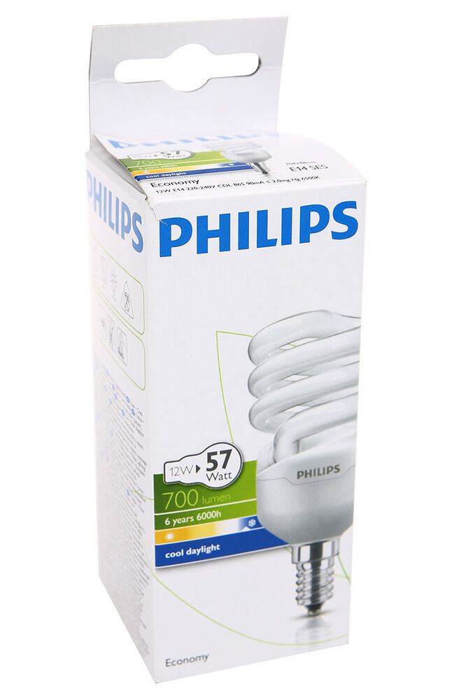 Image for Philips Ampul Twister 12W CDL E14 Beyaz Işık from İzmir
