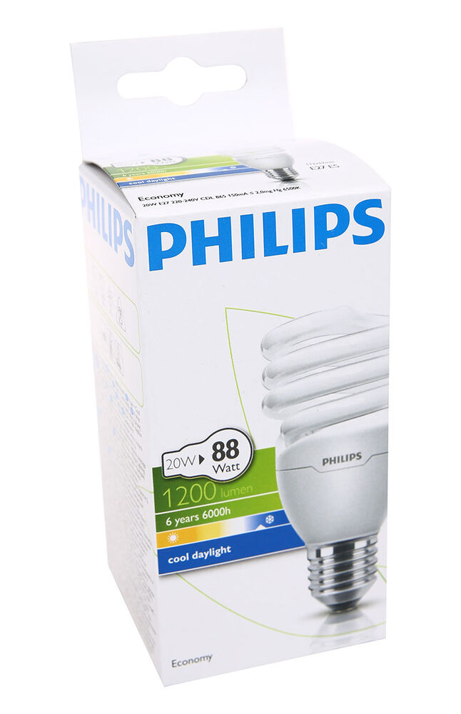 Image for Philips Ampul Twister 20W CDL E27 Beyaz Işık from Özdilekteyim