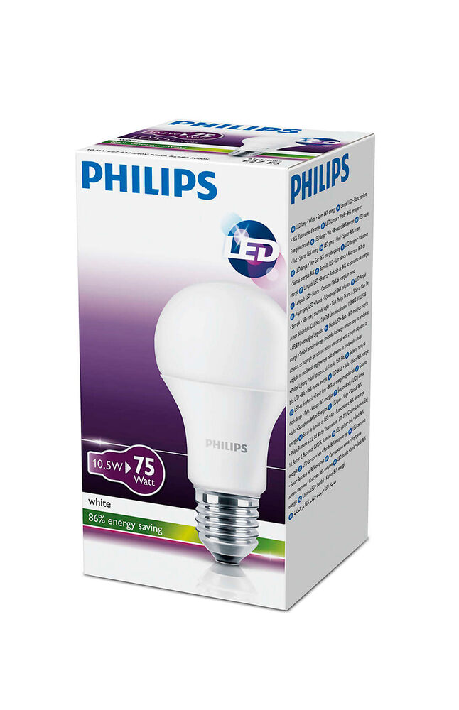 Image for Philips Led Ampul 10,5W (75W) E27 830 Sarı Işık from Eskişehir