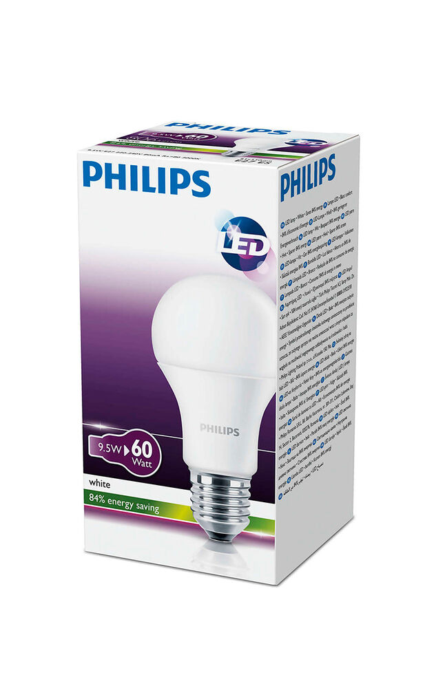 Image for Philips Led Ampul 9,5W (60W) E27 830 Sarı Işık from Antalya