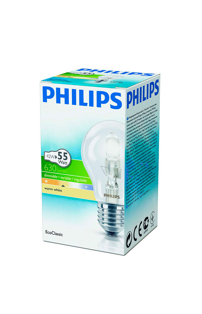 Image for Philips Halojen Ampul 42W A55 E27 Sarı Işık from İzmir