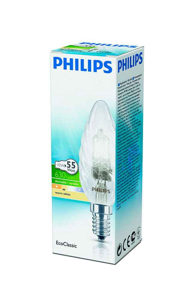 Image for Philips Halojen Mum Ampul 42W E14 BW35 Sarı Işık from İzmir