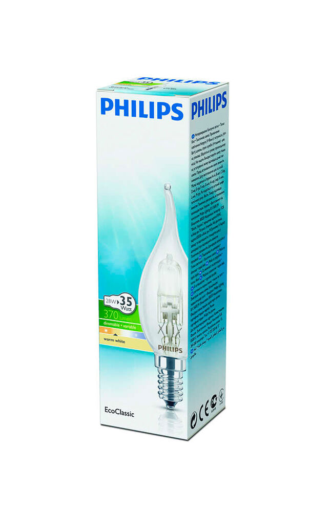 Image for Philips Halojen Mum Ampul 28W E14 BXS35 Sarı Işık from Antalya