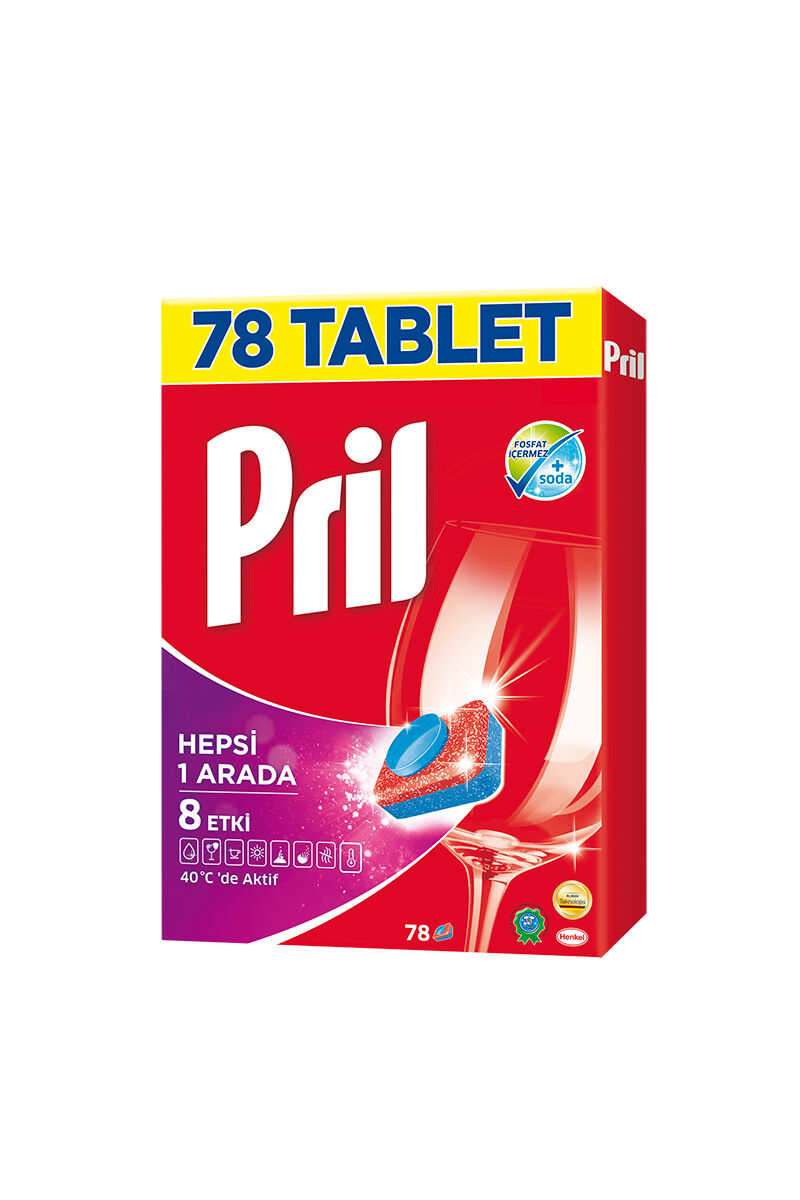 Image for Pril Perfect Multi Tablet 78'Li from İzmir