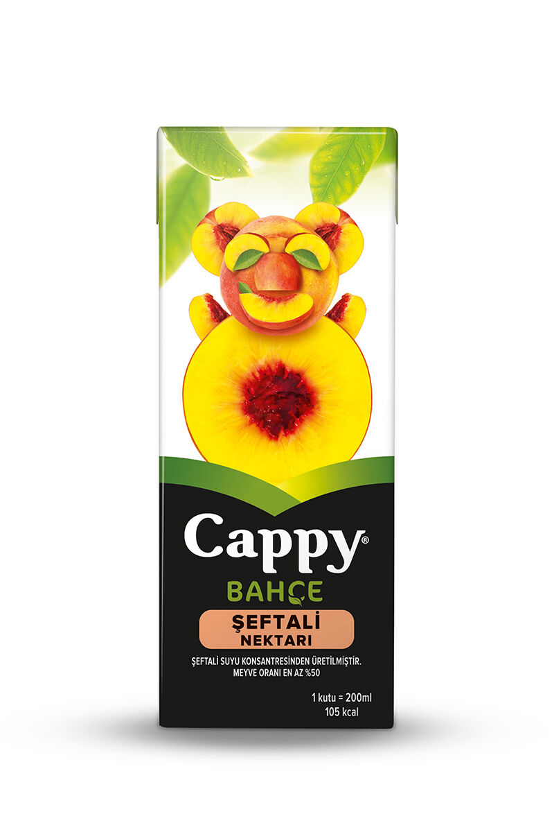 Image for Cappy 200 Ml Şeftali Nektarı from Antalya