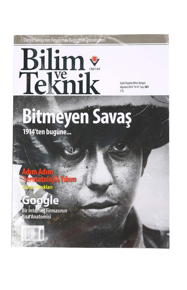 Image for Dergi Bilim Ve Teknik from İzmir